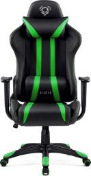 Fotel Diablo Chairs X-One Czarno-zielony