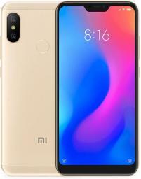Smartfon Xiaomi Mi A2 Lite 64 GB Dual SIM Złoty  (PN100589)