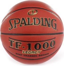 Spalding Piłka Do Koszykówki TF 1000 Legacy Fiba Spalding Pomarańczowy 6