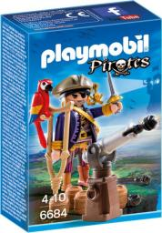 Playmobil Kapitan piratów (6684)