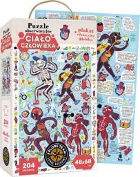 Czuczu Xplore Team Puzzle obserwacyjne Ciało człowieka