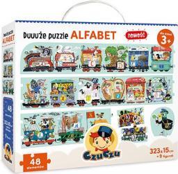 Czuczu Duuuże Puzzle Alfabet 3+