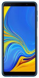 Smartfon Samsung Galaxy A7 2018 64 GB Dual SIM Niebieski  (SM-A750FZBUXEO)