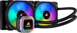 Chłodzenie wodne Corsair Hydro Series H100i RGB Platinum (CW-9060039-WW)