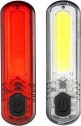 MacTronic Oświetlenie rowerowe Duoslim 60 lm + 18 lm, (ABS0031)