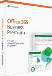 Microsoft Office 365 Business Premium 1 Rok Win/Mac (KLQ-00380)