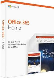 Microsoft Microsoft Office 365 Home Premium 1 rok (6GQ-01016)