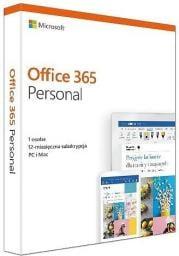 Microsoft Office 365 Personal PL 32/64-bit Subskrypcja 1 rok (QQ2-00735)