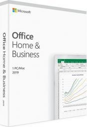 Microsoft Office 2019 dla Użytkowników Domowych i Małych Firm (T5D-03216) ENG