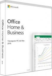 Microsoft Office 2019 dla Użytkowników Domowych i Małych Firm (T5D-03205) Win10/Mac
