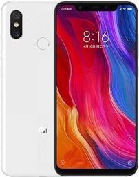 Smartfon Xiaomi Mi 8 128 GB Dual SIM Biały  (20653)