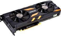 Karta graficzna Inno3D GeForce RTX 2080 X2 OC 8GB GDDR6 (256 Bit), HDMI, 3xDP, USB-C, BOX (N20802-08D6X-118063)