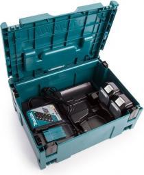 Makita Zestaw zasilający MakPack 18V ładowarka DC18RC + 2x akumulator 5.0Ah BL1850B (197624-2)