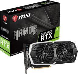 Karta graficzna MSI GeForce RTX 2070 ARMOR 8G GDDR6 (RTX 2070 ARMOR 8G)