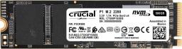 Dysk SSD Crucial P1 500GB M.2 2280 PCIe Gen3 x4 NVMe (CT500P1SSD8)