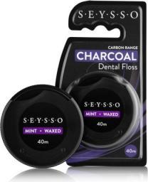 Seysso Carbon Nić Dentystyczna z Aktywnym Węglem
