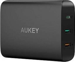 Ładowarka Aukey sieciowa 74.5W 8.1A USB C PD 3.0   QC 3.0   FCP (PA-Y13)