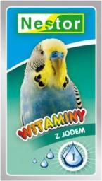 Nestor Witaminy dla małych papug z jodem 20g