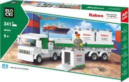 Blocki RABEN Ciężarówka kontenerowa 343el. (KBR052)