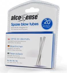 AlcoSense Ustniki do alkomatów Alcosense (Opakowanie 20 sztuk)