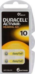 Duracell Bateria do aparatów słuchowych PR70 100mAh 6szt.