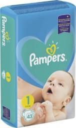 Pampers Pieluchy Newborn 1 2-5kg 43 szt