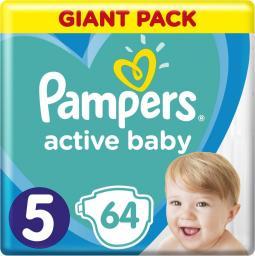 Pampers Pieluchy Jednorazowe Giant Pack Junior r.5 64szt