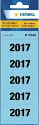 Herma Naklejki Datowe 2017 60x26mm 5x20