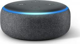Amazon Echo Dot 3nd gen + adapter PL kolor czarny