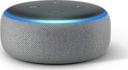 Amazon Echo Dot 3nd gen + adapter PL kolor szary
