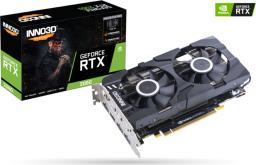 Karta graficzna Inno3D GeForce RTX 2060 Twin X2 6G GDDR6 (192 Bit), HDMI, 3xDP, BOX (N20602-06D6-1710VA23)