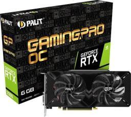 Karta graficzna Palit GeForce RTX 2060 GamingPro OC, 6GB GDDR6 (NE62060T18J9-1062A)