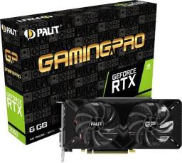Karta graficzna Palit RTX 2060 GamingPro, 6GB GDDR6, 192-bit (NE62060018J9-1062A)