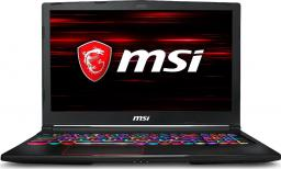 Laptop MSI GE63 Raider RGB 8SE-061PL