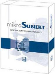 Program Insert MikroSubiekt dla Windows (uproszczony system sprzedaży)