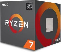 Procesor AMD Ryzen 7 2700 3.2 GHz 20MB, BOX, Wraith Max (YD2700BBAFMAX)