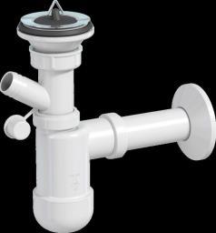 Syfon umywalkowy butelkowy biały (CHV240)