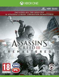 XOne: Assassin's Creed 3 + Liberation Remaster