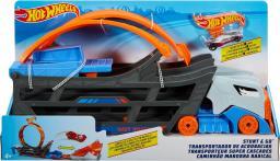 Hot Wheels Transporter Ciężarówka z pętlą (GCK38)