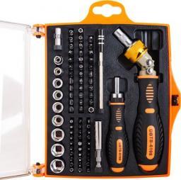 DigitalBOX Zestaw bitów i nasadek z rękojeściami 74 elementy (DBTB-6108)