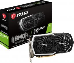 Karta graficzna MSI GeForce GTX 1660Ti Armor OC 6GB GDDR6 (GTX 1660 Ti ARMOR 6G OC)