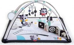 Tiny Love Mata edukacyjna Gimnastyka dla bobasa z pałąkami - Magiczna Kraina - czarno-biała