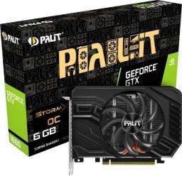 Karta graficzna Palit GeForce GTX 1660 StormX OC 6GB GDDR5 (NE51660S18J9-165F)