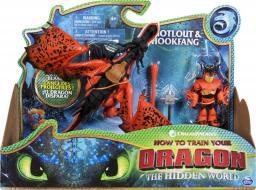 Spin Master Dragon Smok z wikingiem czerwony (20103710)