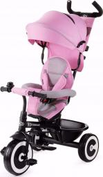 KinderKraft Rowerek trójkołowy ASTON pink