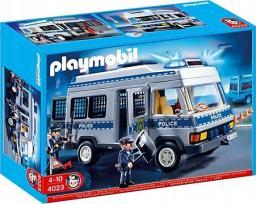 Playmobil Furgonetka policyjna (4023)