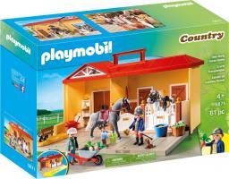 Playmobil Nowa przenośna stajnia (5671)