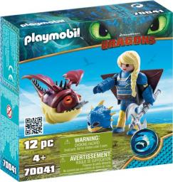 Playmobil Astrid i Hobbgobler w zbroi do latania (70041)