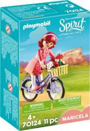 Playmobil Maricela z rowerem (70124)