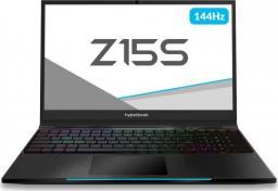 Laptop Hyperbook Pulsar Z15S 8 GB RAM/ 256 GB M.2 PCIe/ 1TB HDD/ Windows 10 Home